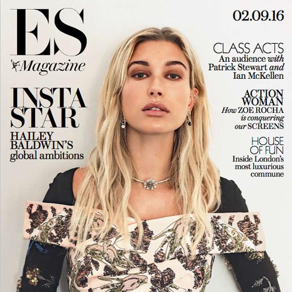Hailey Baldwin, ES Magazine