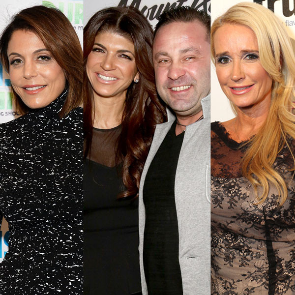 Teresa Giudice, Joe Giudice, Bethenny Frankel, Kim Richards, Bethenny Frankel, Phaedra Parks, Apollo Nida, Real Housewives