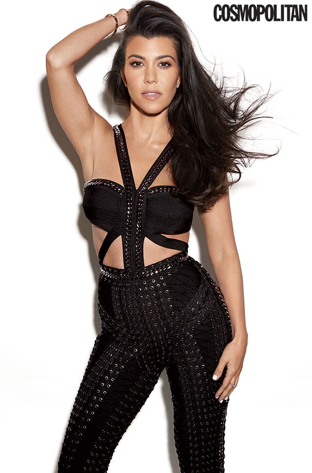 Kourtney Kardashian, Cosmopolitan, October Issue