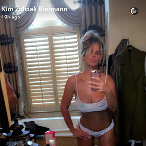 Kim Zolciak, Snapchat