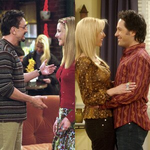 Lisa Kudrow, Hank Azaria, Paul Rudd, Friends