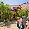Tom Hanks, Rita Wilson, House