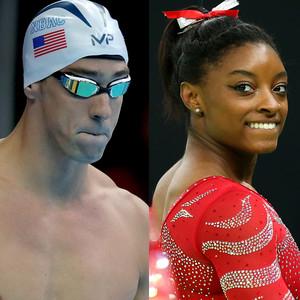 Michael Phelps, Usain Bolt, Simone Biles, Jordan Burroughs, Ibtihaj Muhammad, Olympics, 201 Rio