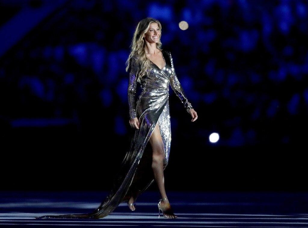 Gisele Bundchen, Opening Ceremony, Rio 2016, Olympics