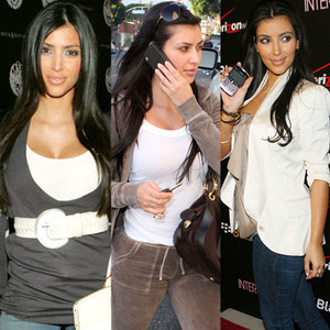Kim Kardashian, Belt, Juicy Sweatsuit, Blackberry