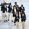 Opening Ceremony, Rio 2016, Olympics, Refugee Olympic Team
