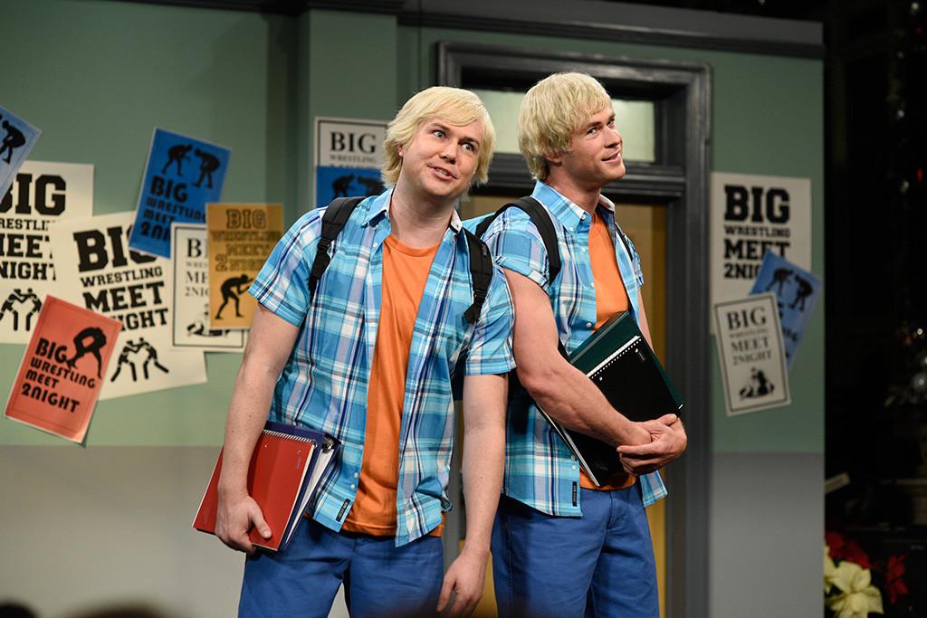 Taran Killam, Chris Hemsworth, SNL, Saturday Night Live