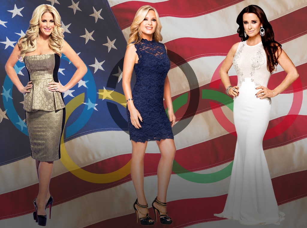 Real Housewives as Olympians
