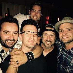 'N Sync, Justin Timberlake, JC Chasez, Chris Kirkpatrick, Joey Fatone, Lance Bass