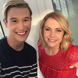 Tyler Henry, Melissa Joan Hart, Instagram