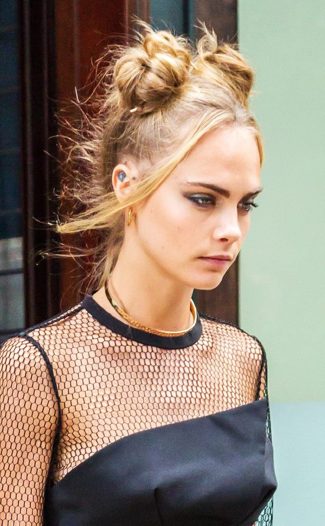 Double Buns: 3 Rad Ways To Wear The '90s Hairstyle