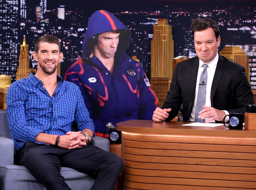 The Tonight Show, Jimmy Fallon, Michael Phelps