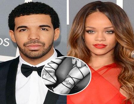 Rihanna and drake get matching shark tattoos that have for Rihanna and drake matching tattoos