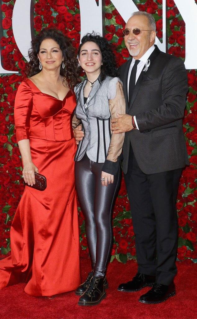 Gloria Estefan, Emily Estefan, Emilio Estefan