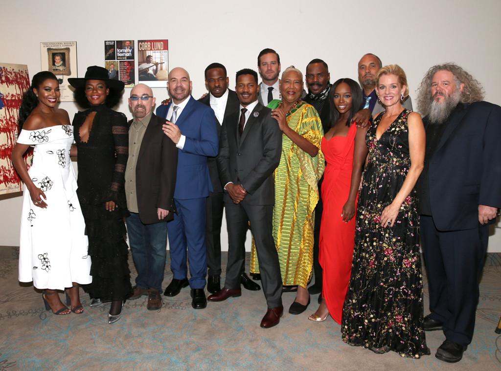 Gabrielle Union, Aunjanue Ellis, Jackie Earle Haley, Jason Stuart, Chike Okonkwo, Nate Parker, Armie Hammer, TIFF