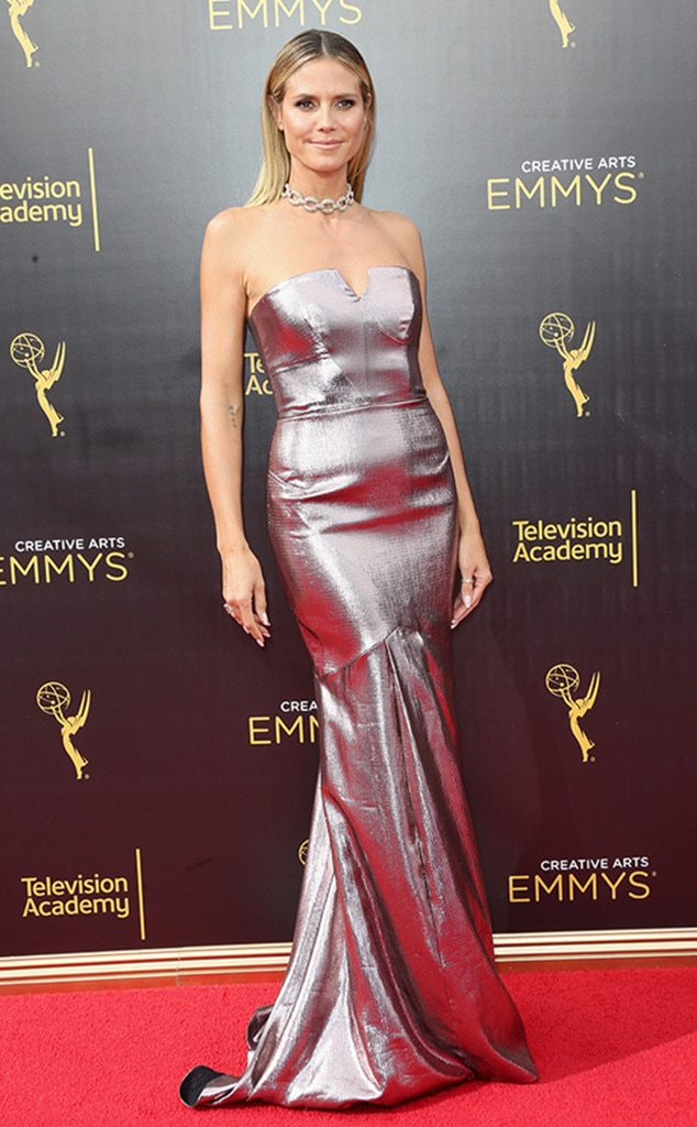 Heidi Klum, Creative Arts Emmys, Night 2