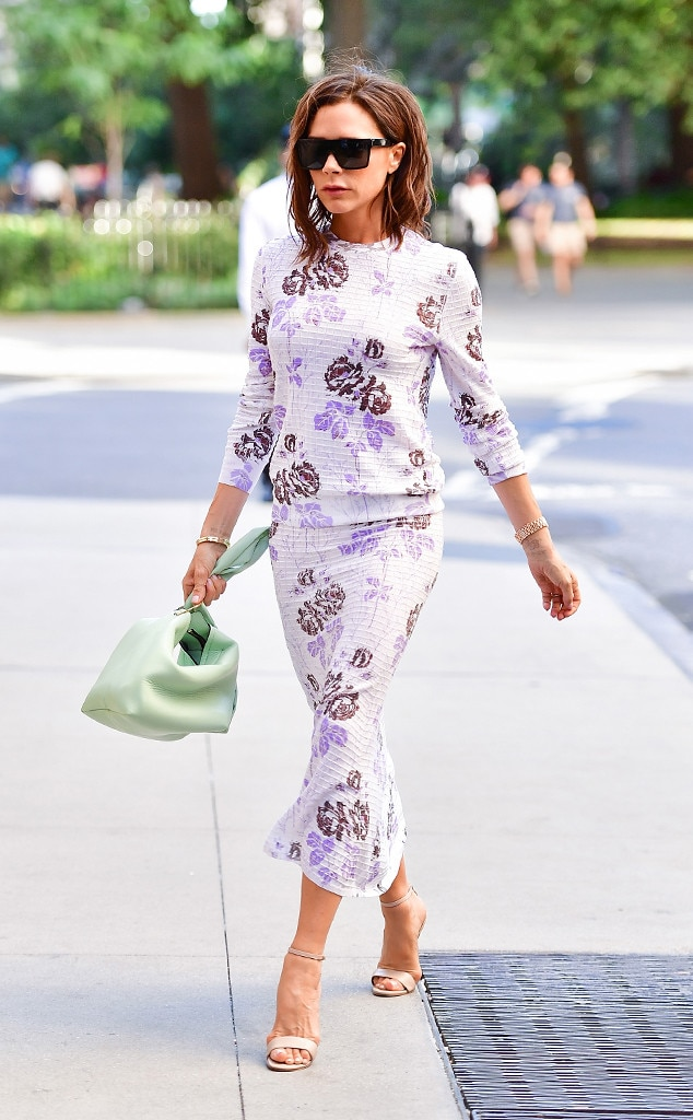 Victoria Beckham From Best Celeb Street Style From Nyfw Spring 2017 E News