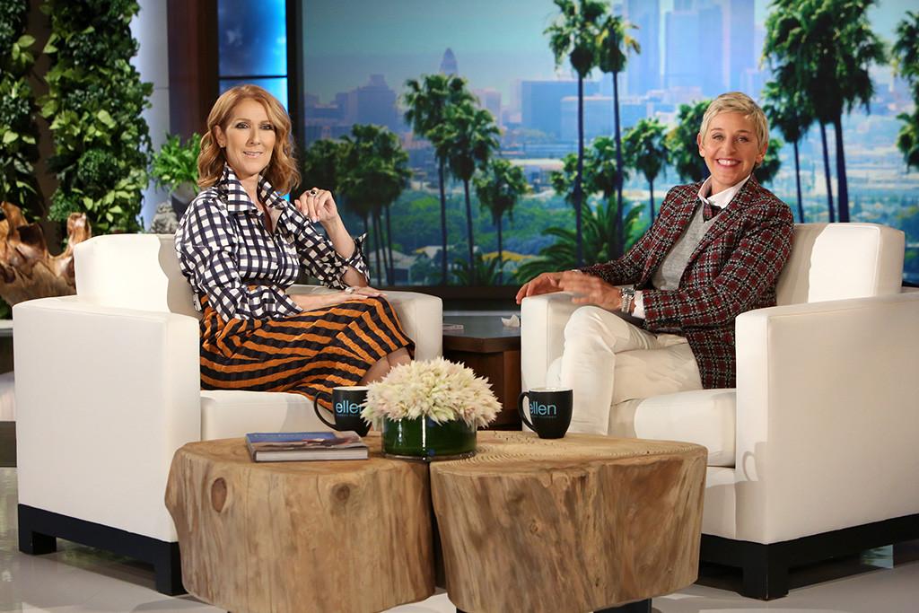 Celine Dion, Ellen DeGeneres, The Ellen DeGeneres Show