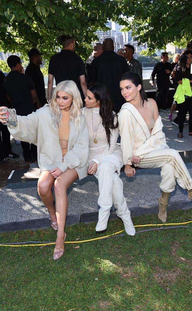 Kylie Jenner, Kim Kardashian, Kendall Jenner, Yeezy Season 4