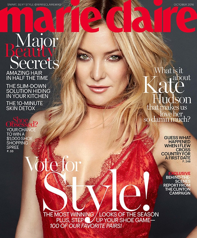 Kate Hudson, Marie Claire