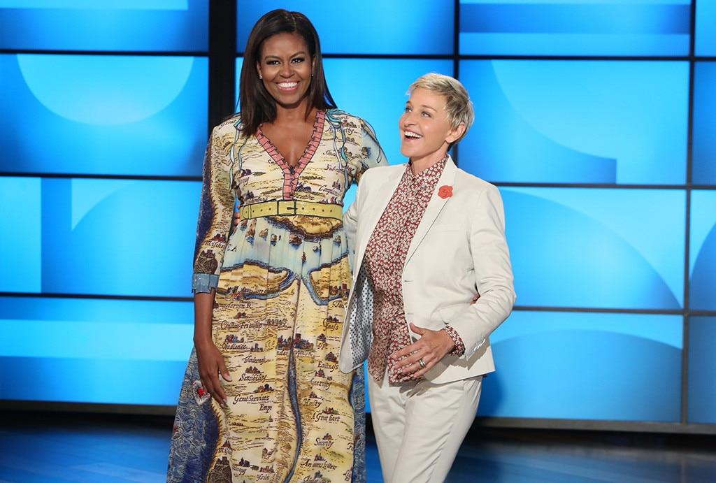Michelle Obama, Ellen DeGeneres, The Ellen DeGeneres Show