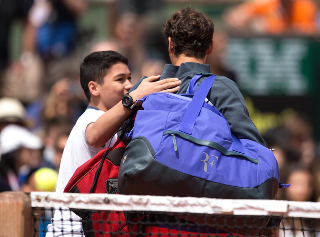 Celebrity Ambushes, Roger Federer