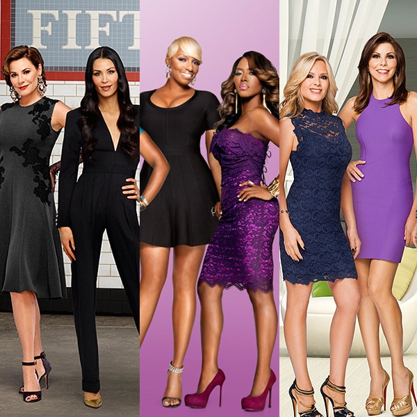 Real Housewives of New York, Orange County, Atlanta, New Jersey