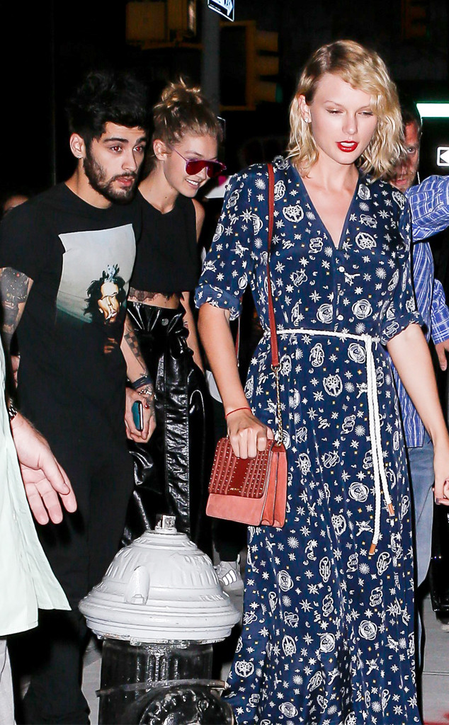 Taylor Swift, Zayn Malik, Gigi Hadid
