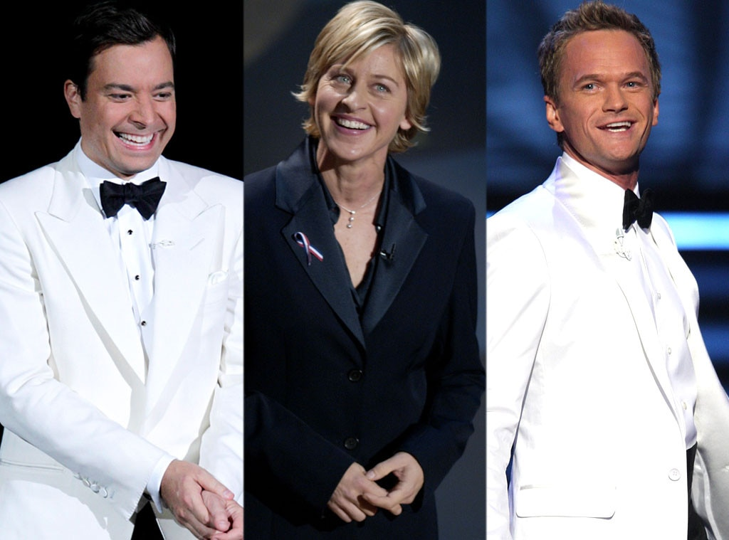 Ellen Degeneres, Neil Patrick Harris, Jimmy Fallon, Emmy Awards