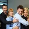 Jimmy Kimmel, Scott Eastwood, Ellen DeGeneres