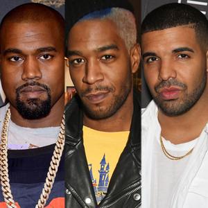 Kid Cudi, Drake, Kanye