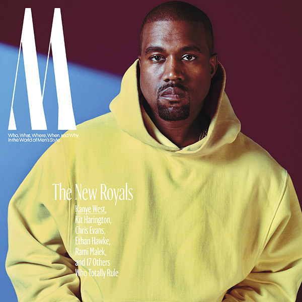 Kanye West, W Magazine