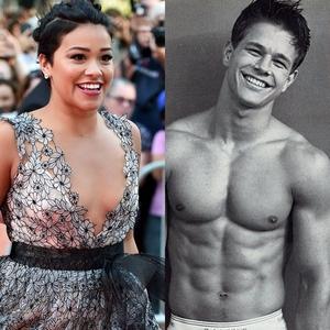 Gina Rodriguez, Mark Wahlberg, Calvin Klein Ad
