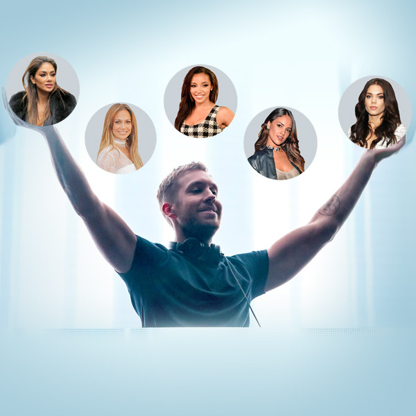 Calvin Harris, Jennifer Lopez, Eiza Gonzalez, Tinashe, Aarika Wolf, Nicole Scherzinger