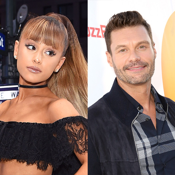 Ariana Grande, Ryan Seacrest