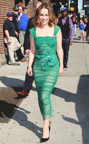 ESC: Emilia Clarke, Street Style