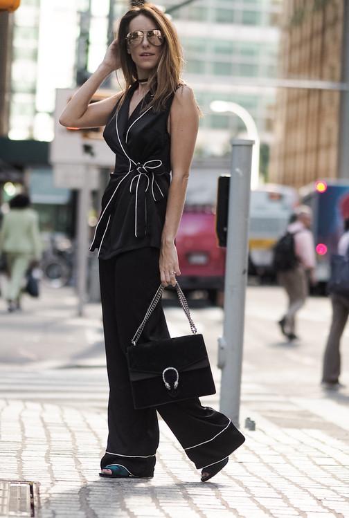 Sabrina Chakici E! UK Host NYFW Photos