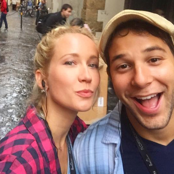 Skylar Astin, Anna Camp, Instagram, Honeymoon