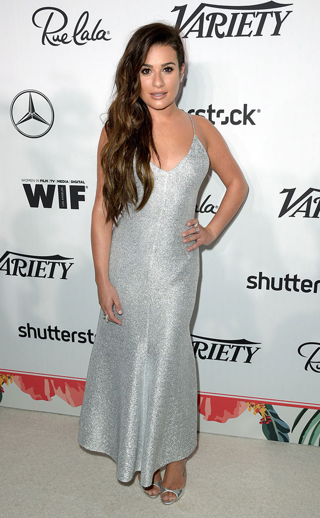 Lea Michele,Variety Women In Film, Emmy Party