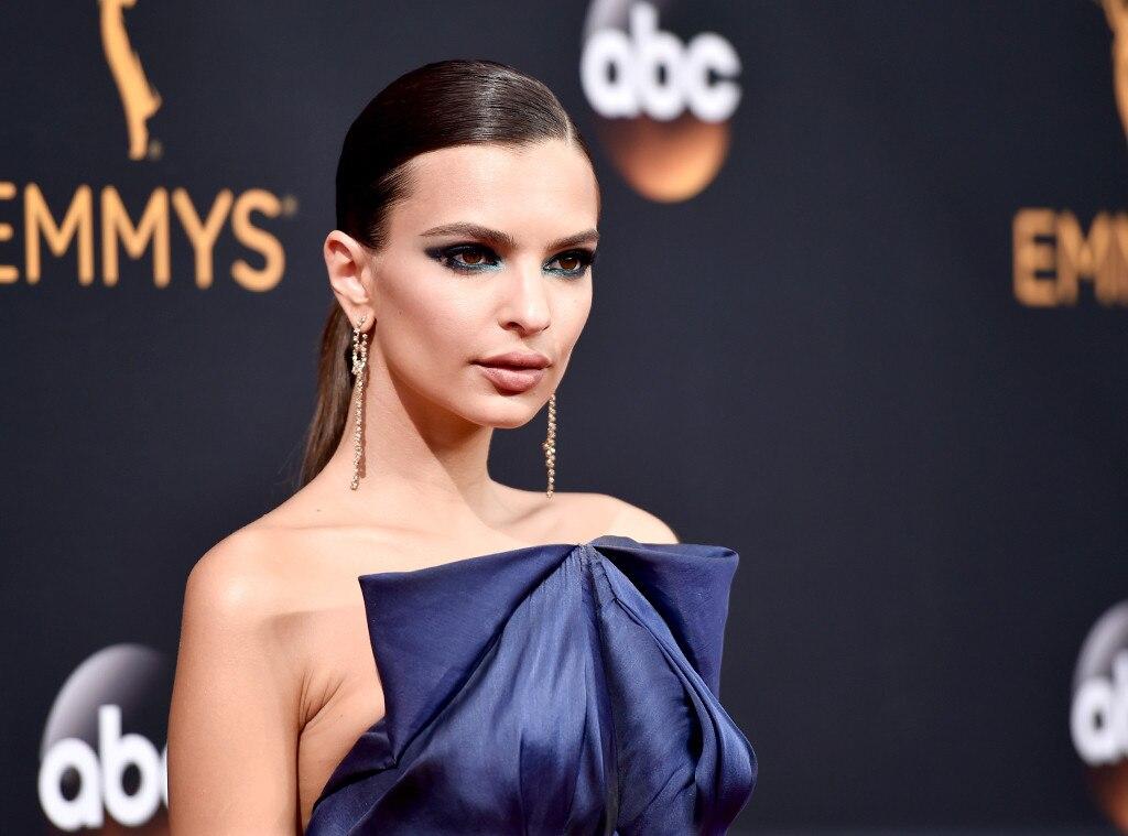 ESC: Emmy Awards, Best Beauty, Emily Ratajkowski