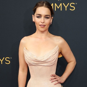 Emilia Clarke, 2016 Emmy Awards, Arrivals
