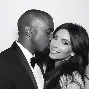 Kim Kardashian, Kanye West, Instagram