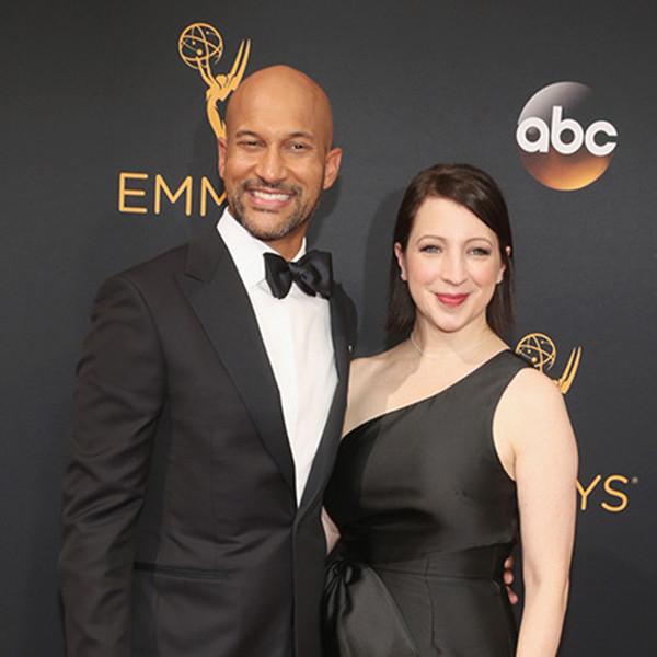 Keegan-Michael Key, Elisa Pugliese, 2016 Emmy Awards, Couples