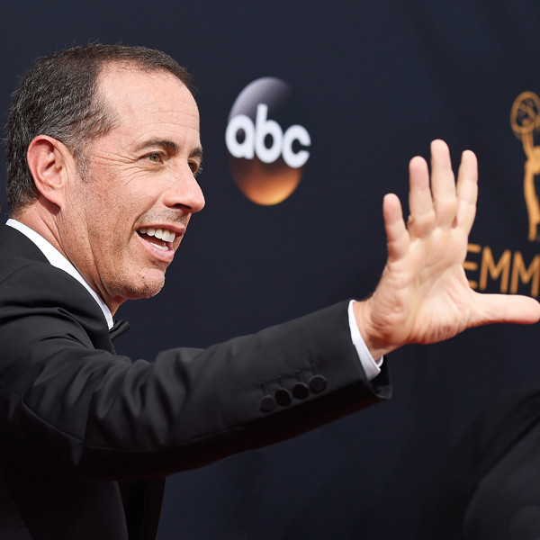 Jerry Seinfeld, 2016 Emmy Awards