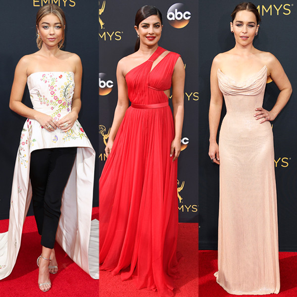 Fashion Police, 2016 Emmy Awards, Arrivals