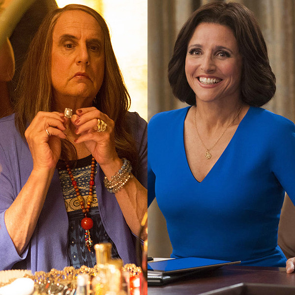 Jeffrey Tambor, Julia Louis-Dreyfus, Kate McKinnon, Louis Anderson, Emmy Awards, Winners