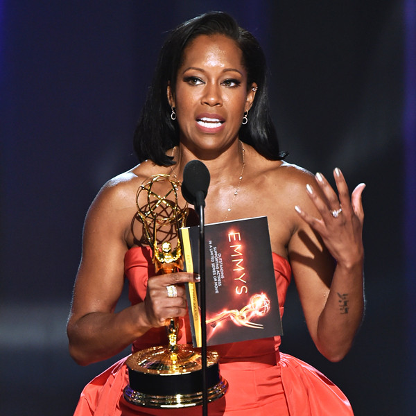 Regina King, 2016 Emmy Awards, Winners