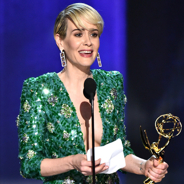 Sarah Paulson, 2016 Emmy Awards, Winners