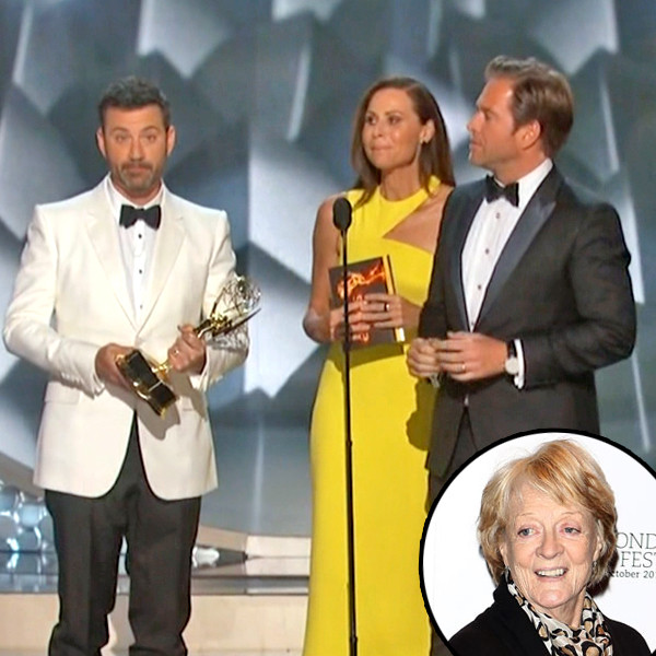 Jimmy Kimmel, Maggie Smith