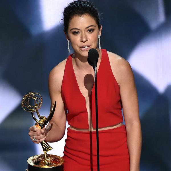 Tatiana Maslany, 2016 Emmy Awards, Arrivals